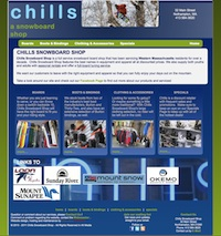 Chills Snowboard Shop
