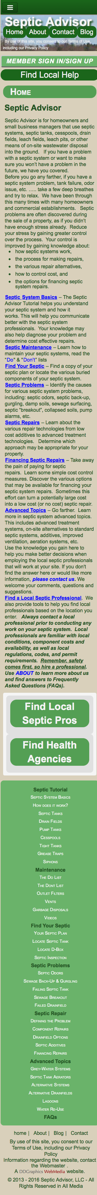 Septic Advisors